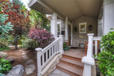 Boulder Single Family Home Active: 2481 Mapleton Avenue