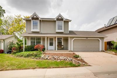 Broomfield Single Family Home Under Contract: 404 Hickory Street