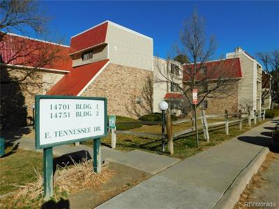 Aurora Condo/Townhouse Active: 14701 East Tennessee Drive #138