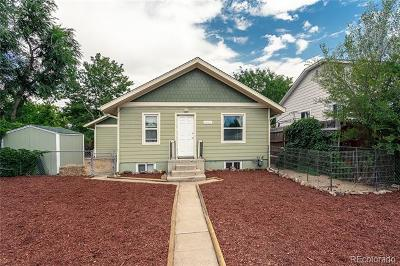 Denver Single Family Home Active: 4580 Sheridan Boulevard