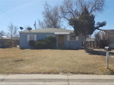 Wheat Ridge Single Family Home Under Contract: 10900 West 39th Avenue
