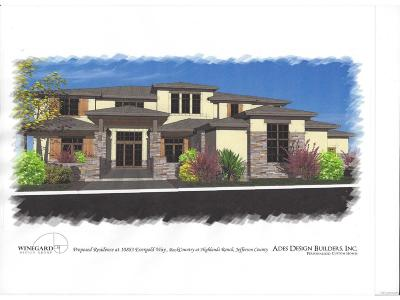 Highlands Ranch Single Family Home Active: 10883 Evergold Way