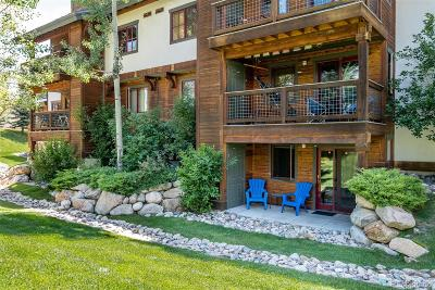 Steamboat Springs CO Condo/Townhouse Active: $305,000