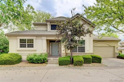Englewood Single Family Home Active: 9617 East Arbor Place