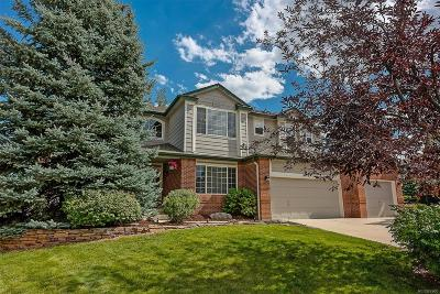 Castle Pines Single Family Home Under Contract: 8616 Fawnwood Drive