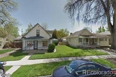 Denver Single Family Home Sold: 4536 Stuart Street