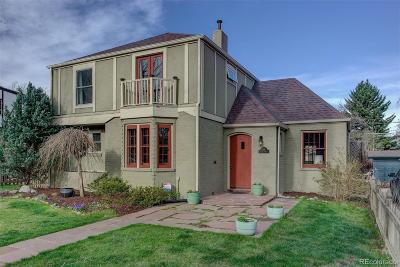 Denver Single Family Home Under Contract: 319 Albion Street
