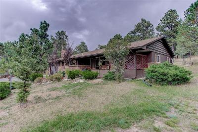 Evergreen Single Family Home Under Contract: 3588 South Saddle Road