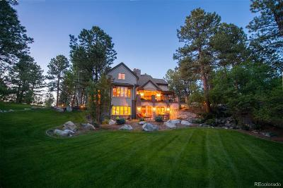Castle Rock CO Single Family Home Sold: $1,275,000