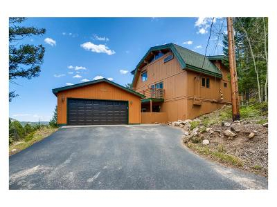 Conifer Single Family Home Under Contract: 29906 Kennedy Gulch Road