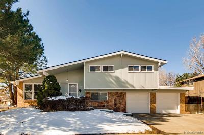 Denver Single Family Home Active: 8580 East Cornell Drive
