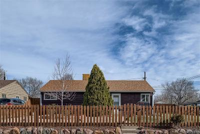 Commerce City Single Family Home Under Contract: 4295 East 69th Place