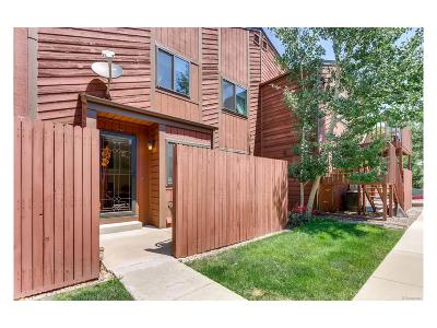 Golden Condo/Townhouse Under Contract: 18254 West 58th Place #30