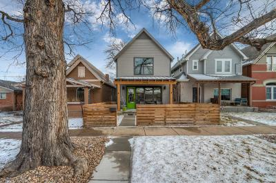 Denver Single Family Home Under Contract: 2946 North Williams Street