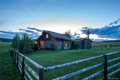 Steamboat Springs Single Family Home Active: 32605 County Road 35