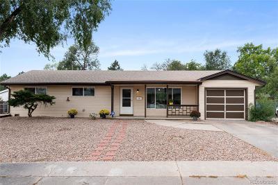 Colorado Springs Single Family Home Under Contract: 416 Sevilla Drive