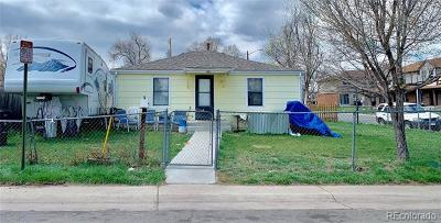 Denver Single Family Home Active: 801 South Osceola Street