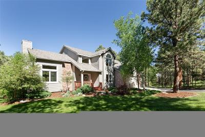 Monument Single Family Home Under Contract: 19458 Rim Of The World Drive
