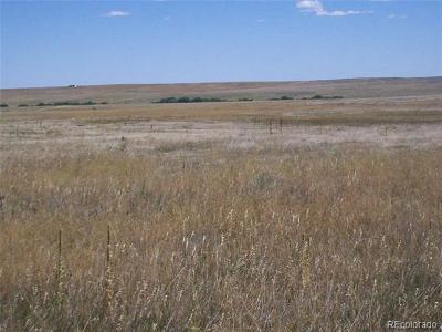 Kiowa Residential Lots & Land Active: 41500 County Road 53 Road