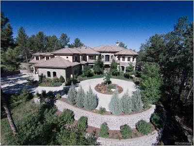 Castle Rock CO Single Family Home Active: $2,790,000