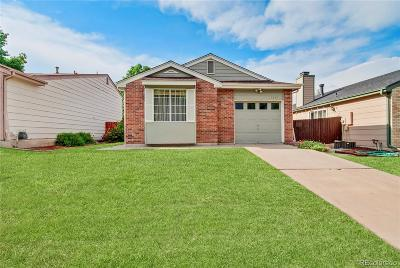 Aurora Single Family Home Under Contract: 17947 East Bethany Place