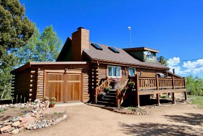 Woodland Park Single Family Home Active: 87 Red Cloud Road