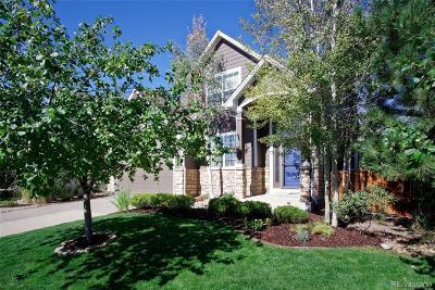 Castle Rock Single Family Home Active: 3511 Desert Ridge Circle
