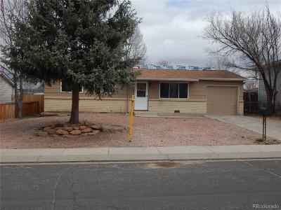 Colorado Springs Single Family Home Active: 4580 Anjelina Circle