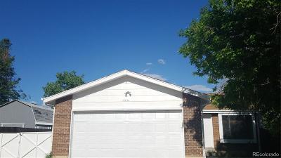 Denver CO Single Family Home Under Contract: $314,900