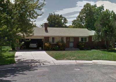 Denver Single Family Home Active: 2980 South Oneida Street