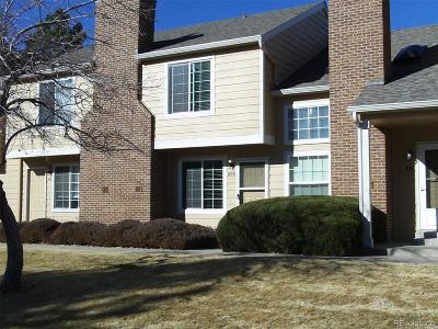 Highlands Ranch, Lone Tree Condo/Townhouse Under Contract: 838 Summer Drive #3-C