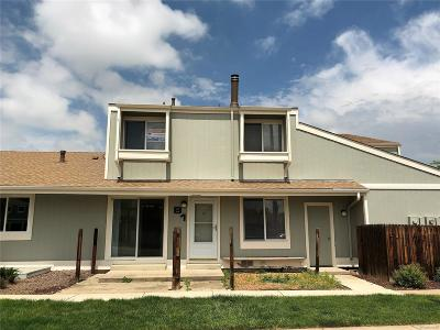 Arvada Condo/Townhouse Under Contract: 8762 Chase Drive #81
