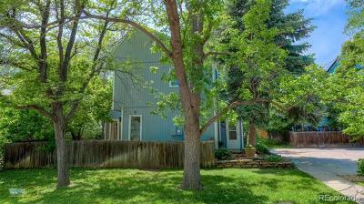 Boulder Single Family Home Active: 769 Cottage Lane