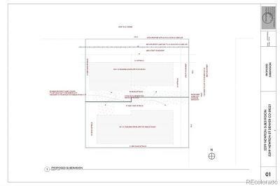 Denver Residential Lots & Land Active: 5299 Newton Street