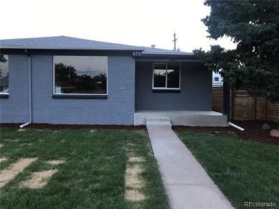 Denver Condo/Townhouse Active: 475 South Eliot Street