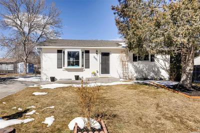 Arvada Single Family Home Under Contract: 6183 West 78th Avenue