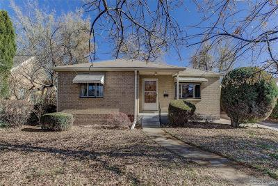 Denver Single Family Home Active: 768 Jersey Street