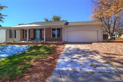 Aurora Single Family Home Active: 17147 East Evans Drive