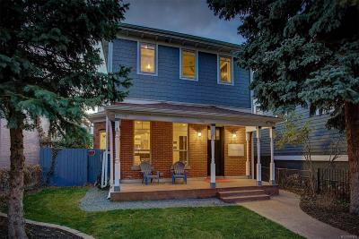 Denver Single Family Home Under Contract: 1745 North Emerson Street