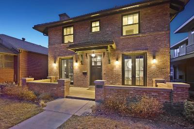 Denver Single Family Home Under Contract: 1175 South Corona Street
