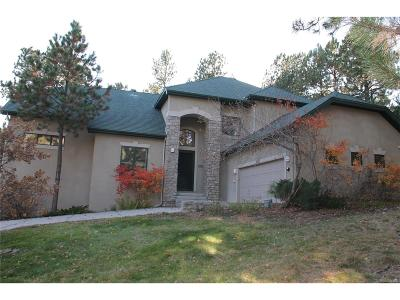 Castle Rock Single Family Home Active: 4535 Mirage Drive