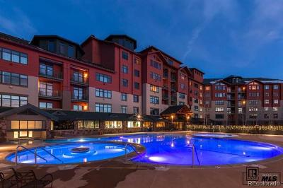 Steamboat Springs Condo/Townhouse Active: 2300 Mt. Werner 705 Qiia & Qiib Circle #Penthous