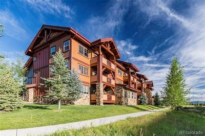 Routt County Condo/Townhouse Active: 2525 Cattle Kate Circle #4112