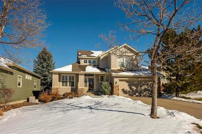 Castle Pines Single Family Home Under Contract: 7474 Snow Lily Place