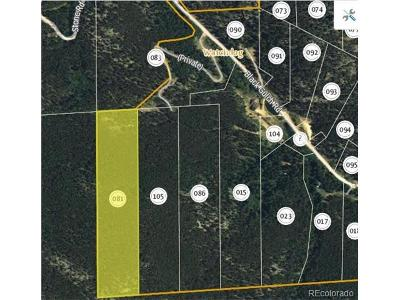 Golden Residential Lots & Land Active: Black Gulch