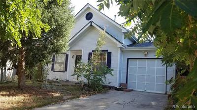 Aurora, Denver Single Family Home Active: 16985 East Temple Place