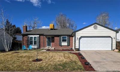 Littleton Single Family Home Active: 8735 West Indore Drive