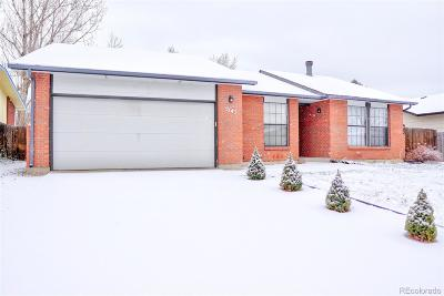 Longmont CO Single Family Home Active: $322,000