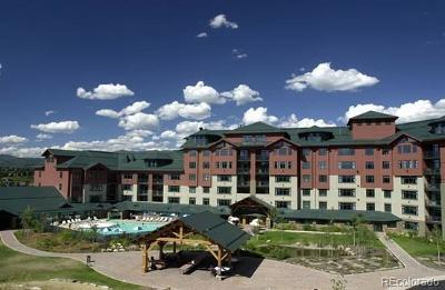 Steamboat Springs Condo/Townhouse Active: 2300 Mt Werner Circle 652 Qi And Qii