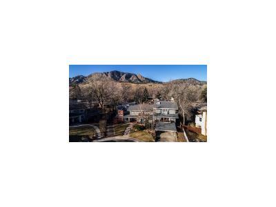 Boulder Single Family Home Active: 245 Fair Place